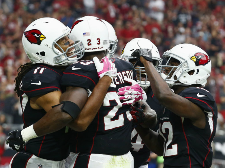Buoyed by addition of Peterson, Cardinals head to London