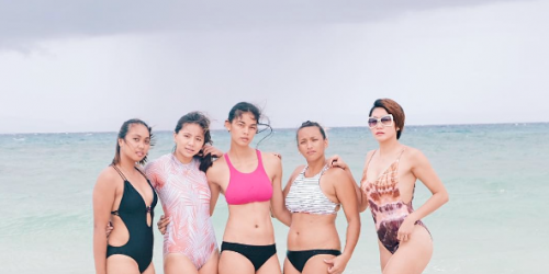 Fun in the sun continues for the Lady Spikers