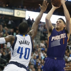 Suns exercise options on Booker, Bender and Chriss