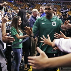 Irving trade ratchets up intensity for season's first game