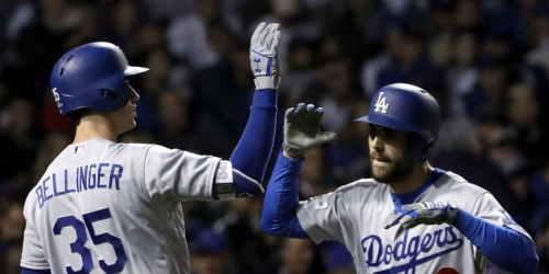 Dodgers close in on World Series with 6-1 win over Cubs