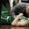 Hayward injury casts pall over opening night thriller