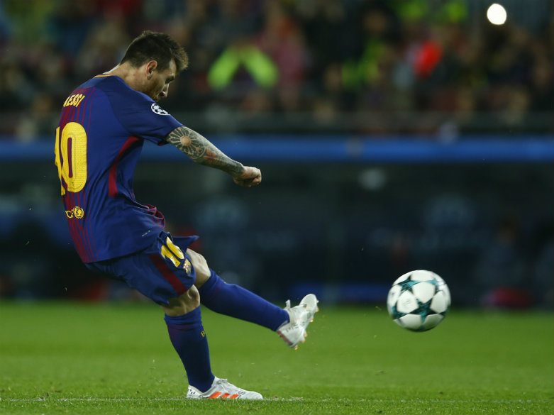 Messi joins Ronaldo in exclusive 100-goal club in Europe