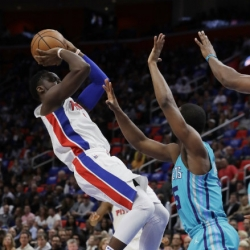 Pistons beat Hornets 102-90 in return downtown