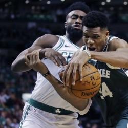 Greek Freak leads Bucks past Celtics, 108-100