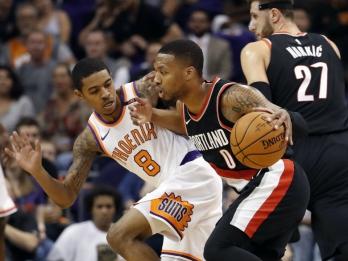 Blazers hand Suns worst loss ever in season opener, 124-76