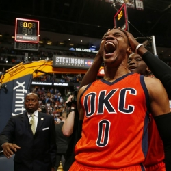 Eight great Westbrook triple-doubles from 2016-17