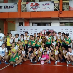 S+A's Heroes Camp brings kids closer to volleyball dream