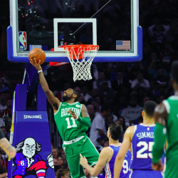 Irving, Horford lead Celtics past 76ers for 1st win