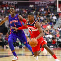 Wall, Porter help Wizards earn 115-111 win over Pistons
