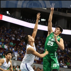 In a lineup of big names, Santillan is DLSU's workhorse