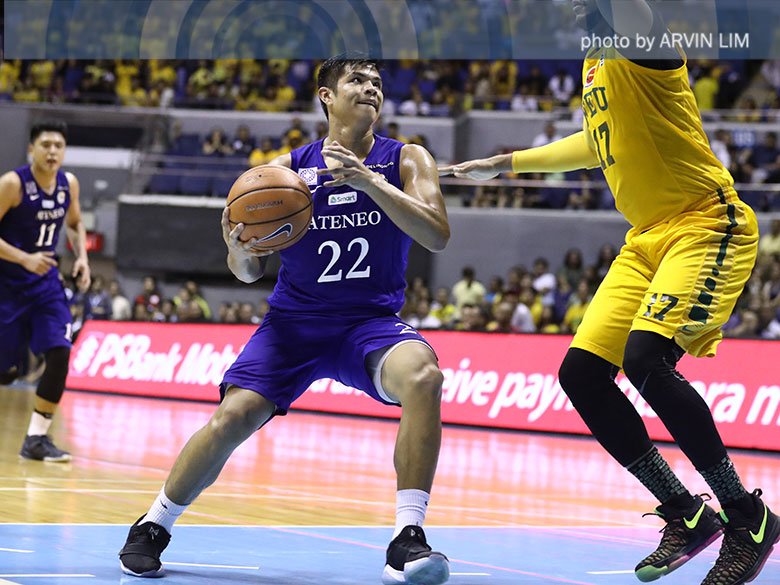 Ateneo comes from behind against FEU to clinch playoff berth