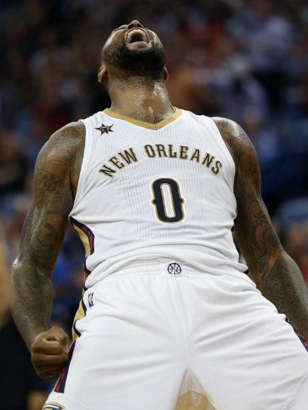New Orleans Pelicans' DeMarcus Cousins fined $25,000