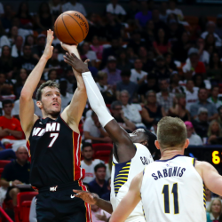 Heat hold off Pacers to win home opener, 112-108