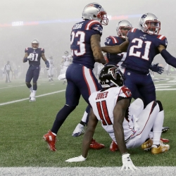Super Mismatch: Patriots continue mastery of Falcons 23-7