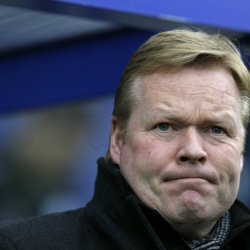 Everton fires manager Ronald Koeman with team in drop zone