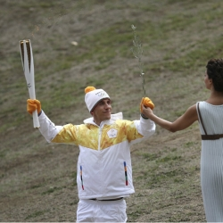 Pyeongchang 2018 flame lit in birthplace of ancient Olympics