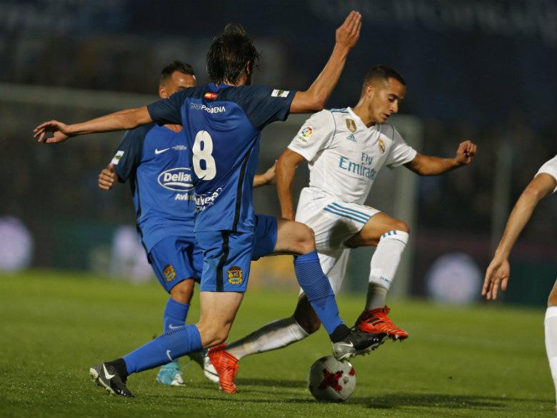 Real Madrid beats 3rd-tier Fuenlabrada 2-0 with 2 penalties