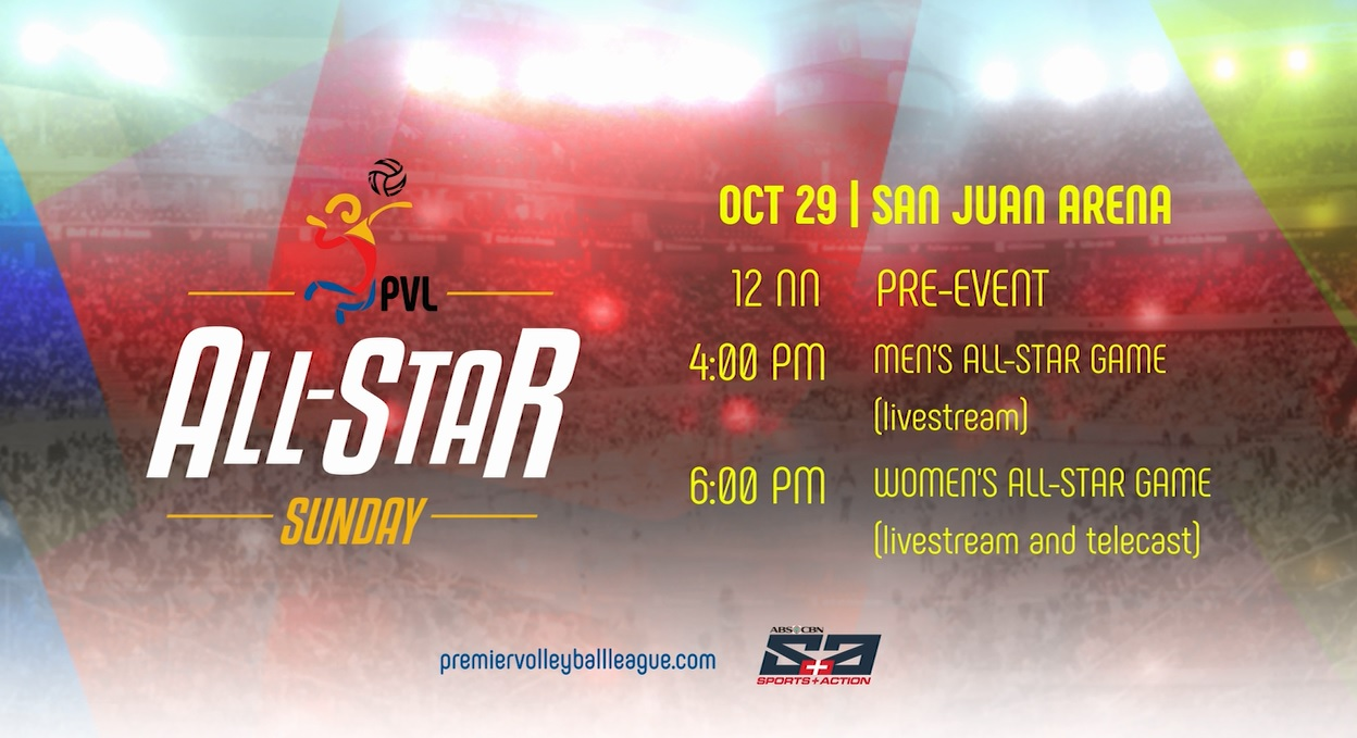PVL stars collide in All-Star Sunday on ABS-CBN S+A