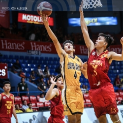 Three years ago, Mapua's Bonifacio wasn't even playing ball