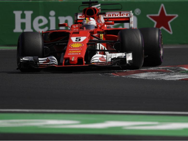 Vettel grabs pole for Mexican Grand Prix; Hamilton 3rd