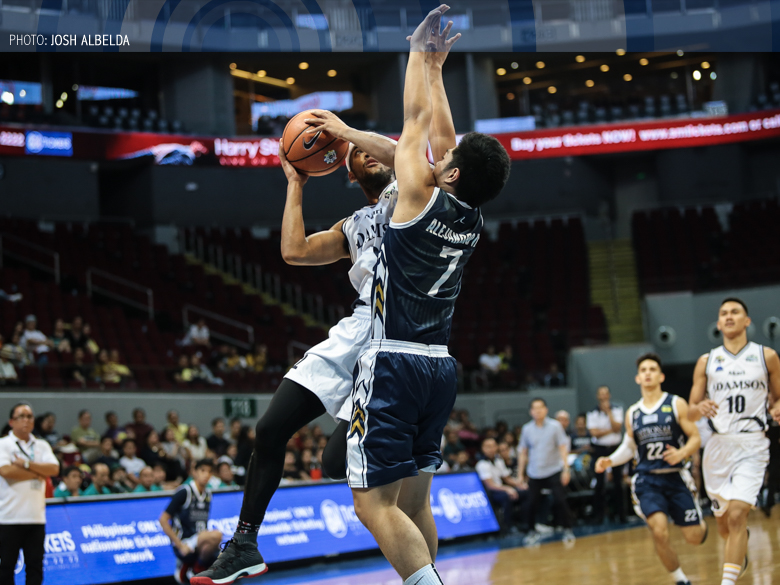 Adamson stays perched at third after routing NU