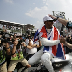 Hamilton wins 4th F1 championship at Mexican Grand Prix