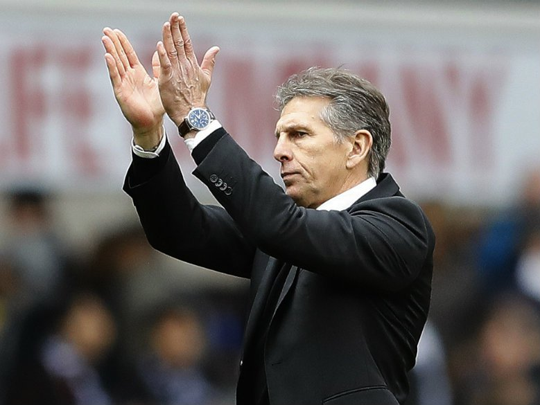 Puel has instant impact at Leicester; Brighton held at home