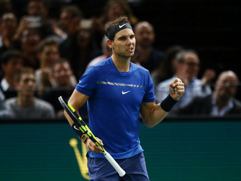 No. 1 Nadal remains on track for first Paris Masters title