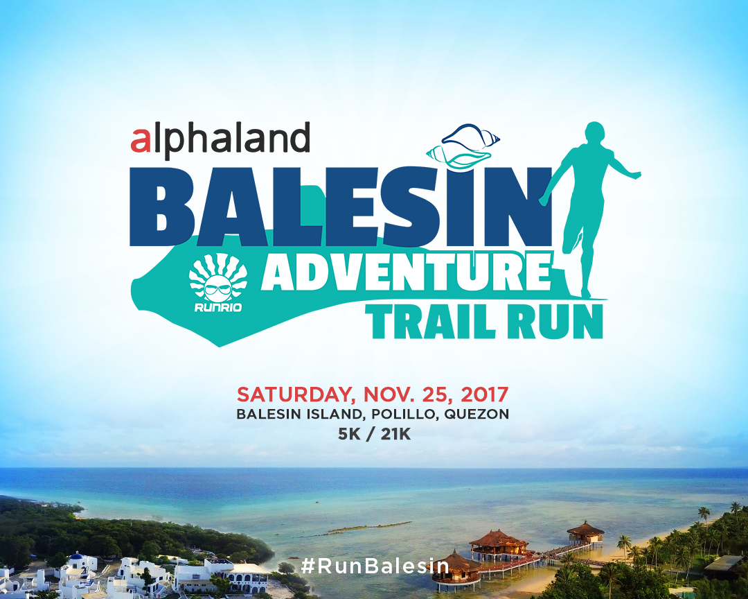 Balesin Trail Run, a destination run unlike any other