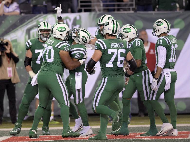Jets damage Bills' AFC East standing, 34-21