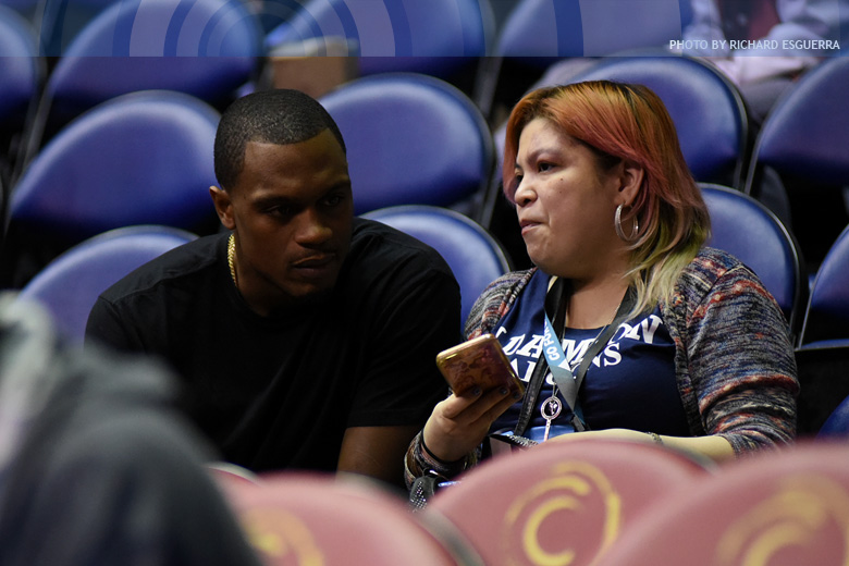Dominant Sarr a sight to see for Adamson fan Justin Brownlee