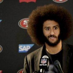 Coach says NFL's Texans have discussed signing Kaepernick