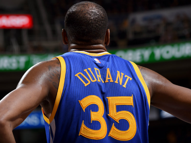 Kevin Durant, Warriors overcome shooting woes to beat Heat