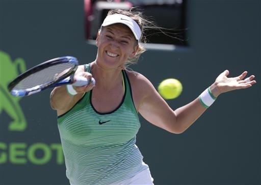 Azarenka says custody dispute keeps her out of Fed Cup final