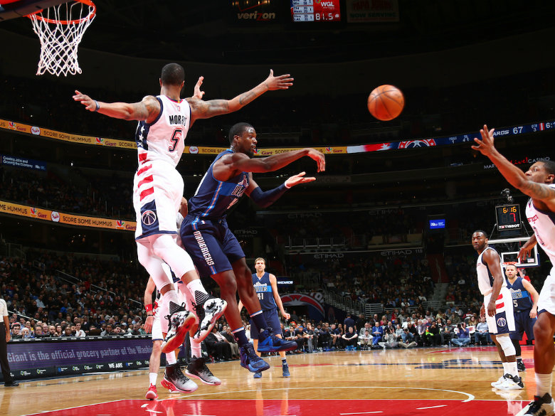 Mavericks stops 6-game slide with victory over Wizards