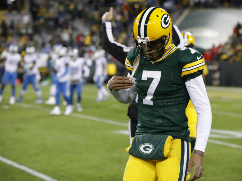 Packers' struggles without Rodgers go beyond offense