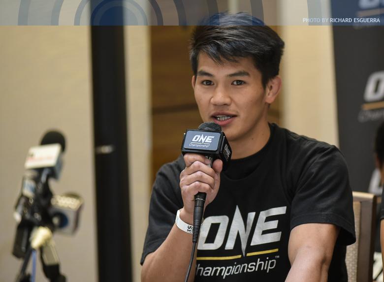 Pacio gives training partner Kingad some interview advice