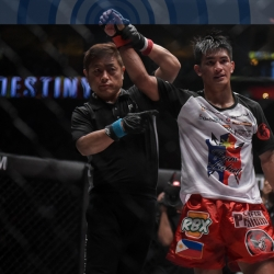 Danny Kingad thankful to have found martial arts