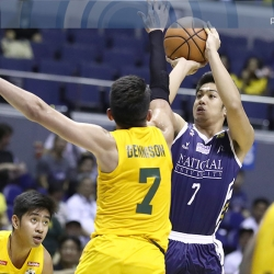 Messages from 'Manong' Kiefer inspire NU's Alejandro