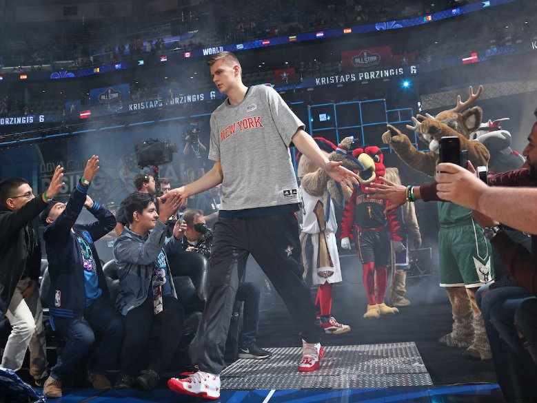 Knicks' Porzingis to sit with ankle and elbow injuries