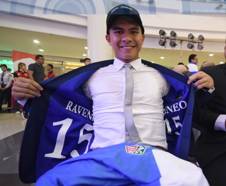 Kiefer inks max rookie deal with NLEX