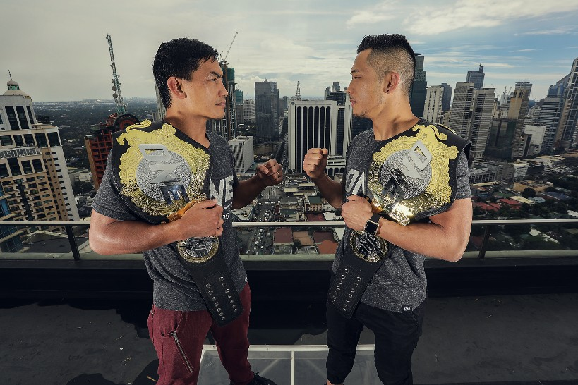 Eduard Folayang and Danny Kingad fight for ONE world titles
