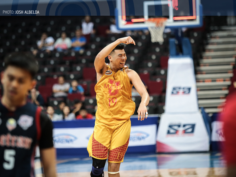 Mapua tower Will Gozum completes rise with MVP award