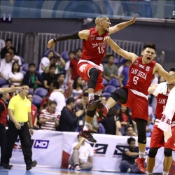 Even after Game 1 win, San Beda still the underdog to LPU