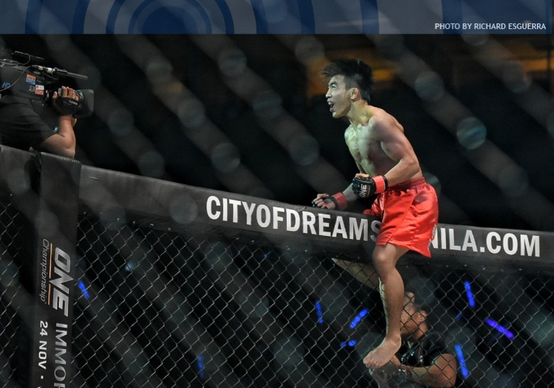 Joshua Pacio knocks out Roy Doliguez in second round