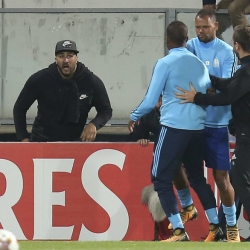 Evra fired by Marseille, banned by UEFA for kicking fan
