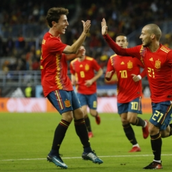 Silva nets 2 as Spain routs Costa Rica 5-0 in friendly