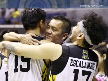Sablan's number one lesson for Tigers: 'Maging mabuting tao'