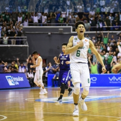 Clutch Ricci asked for Divine Intervention before DLSU win